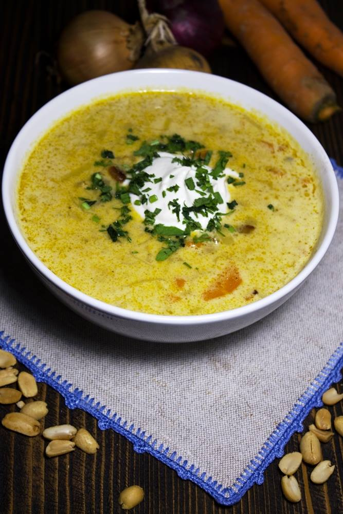 Zupa orzechowa