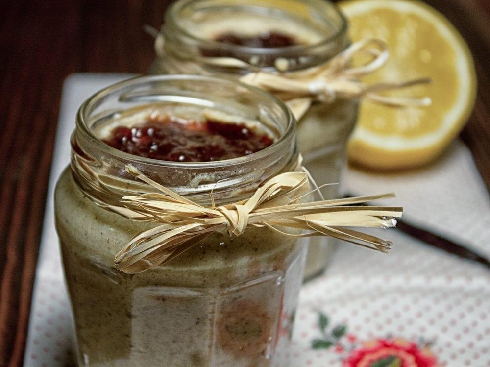 Serek waniliowy z kaszy jaglanej