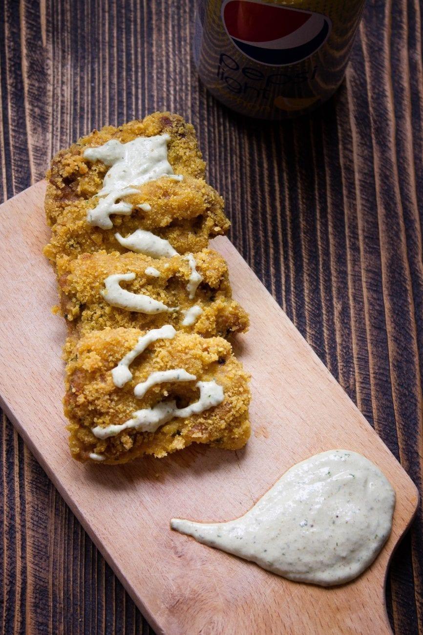 Nuggetsy sojowe bezglutenowe – wegański fastfood
