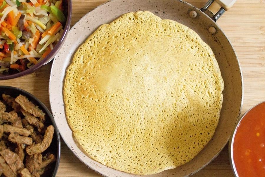 Naleśniki z mąki jaglanej
