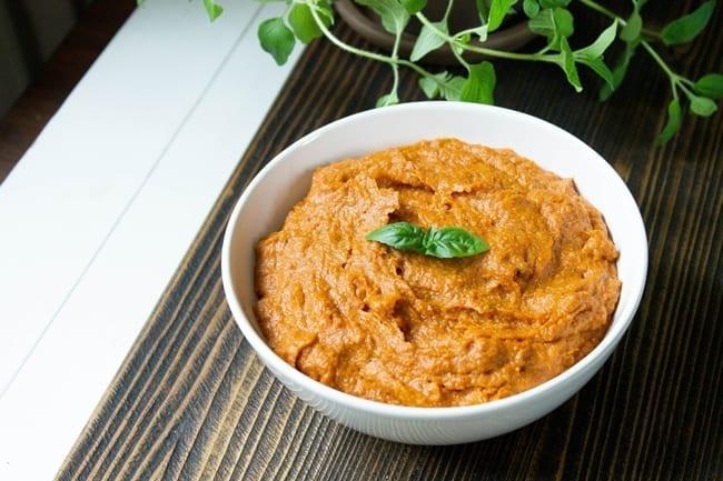 Jaglana pasta pomidorowa