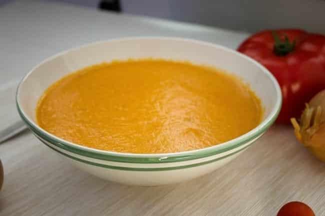 Zupa pomidorowa krem z curry