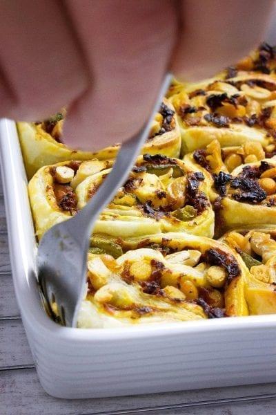 Ślimaczki z ciasta francuskiego