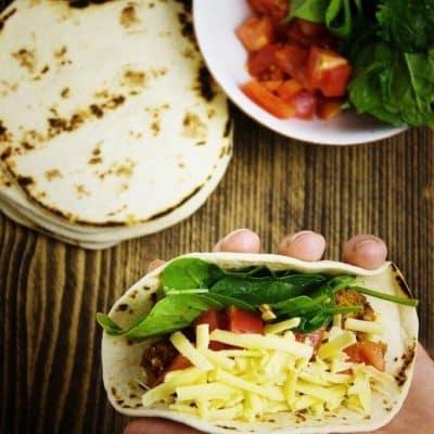 Wegańskie tacos bez mięsa