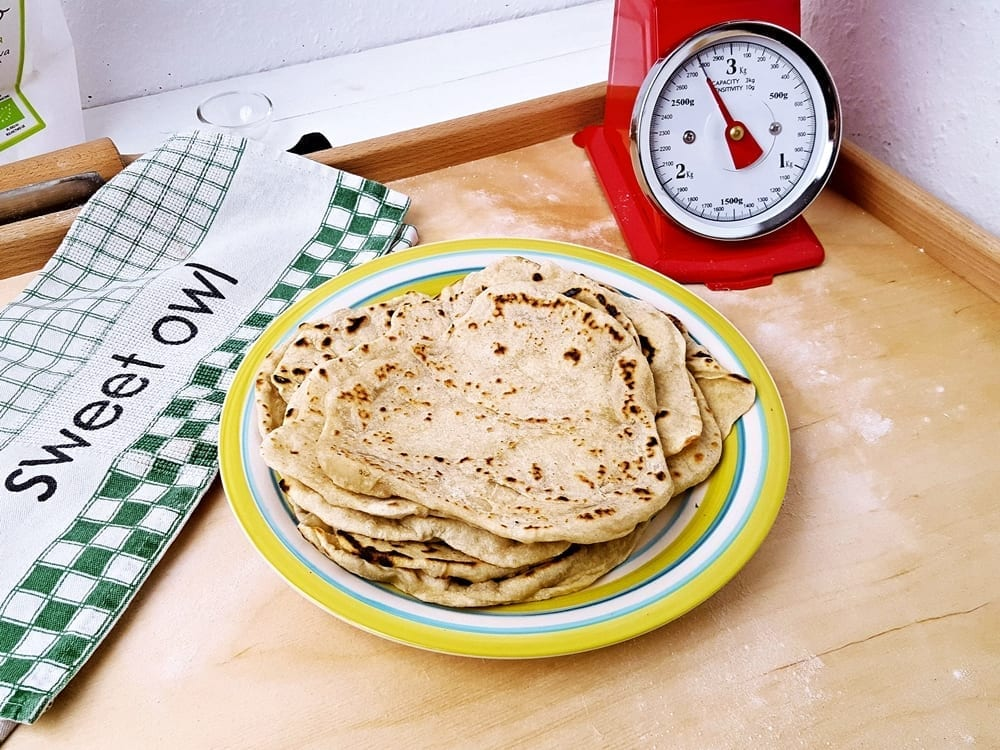 Tortilla meksykańska – pszenne placki