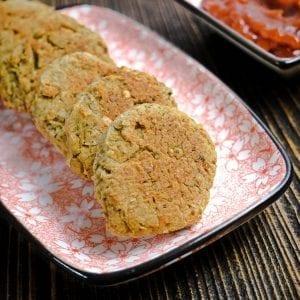 Falafel z piekarnika | ugotowana ciecierzyca