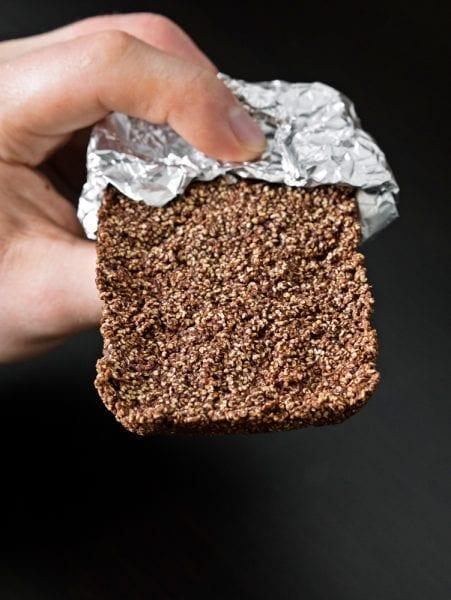 czekoladowe batoniki z amarantusem