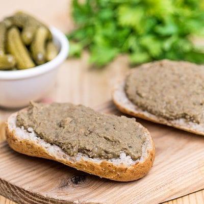 Pasta z zielonej soczewicy