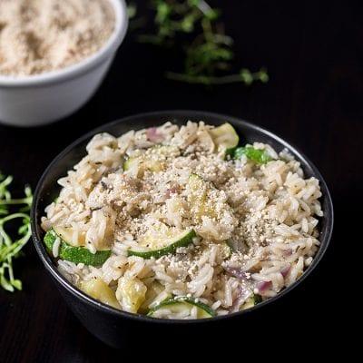 Ryż z cukinią