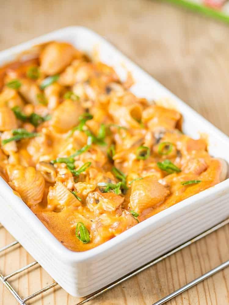 Makaron z serem z ziemniaka