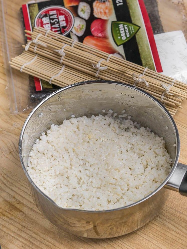 Jak ugotować ryż do sushi + zaprawa do ryżu