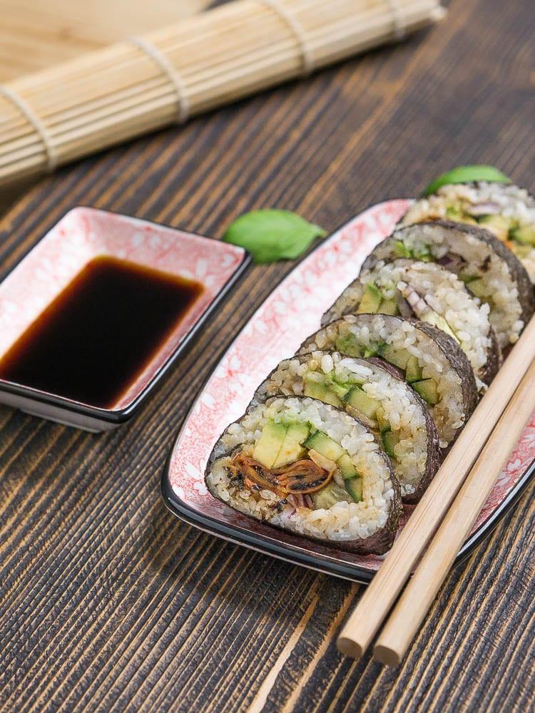 Wegańskie sushi