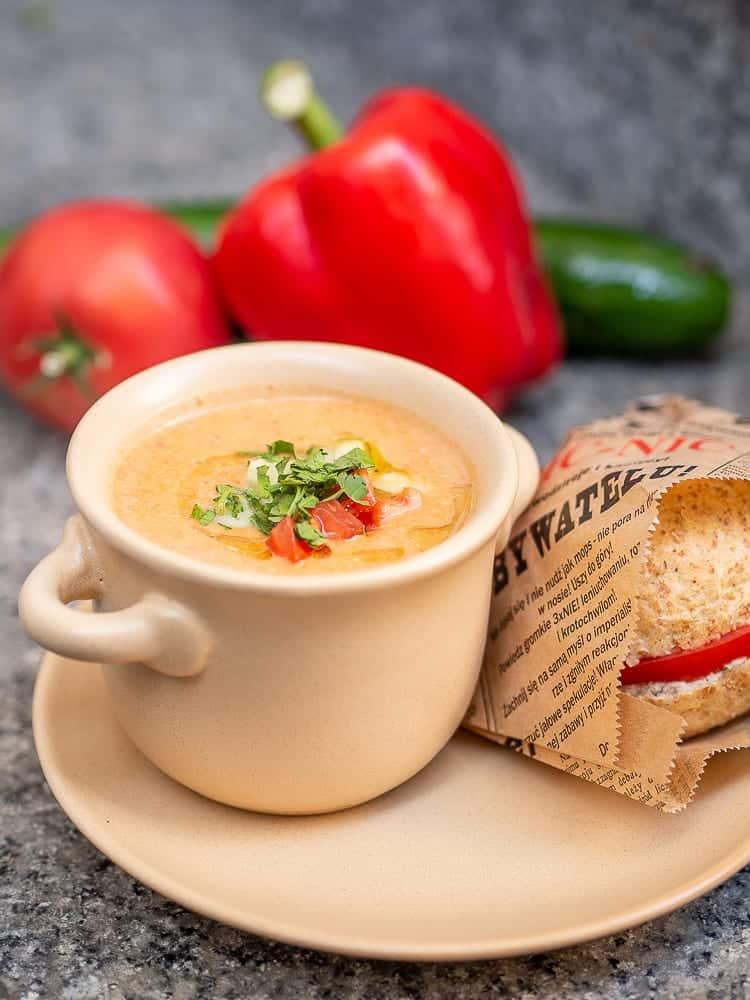 Gazpacho – hiszpański chłodnik