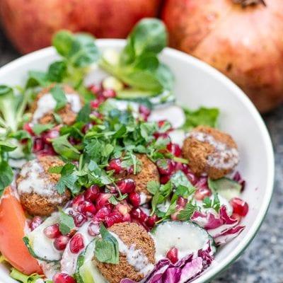 salatka z falafelem 1