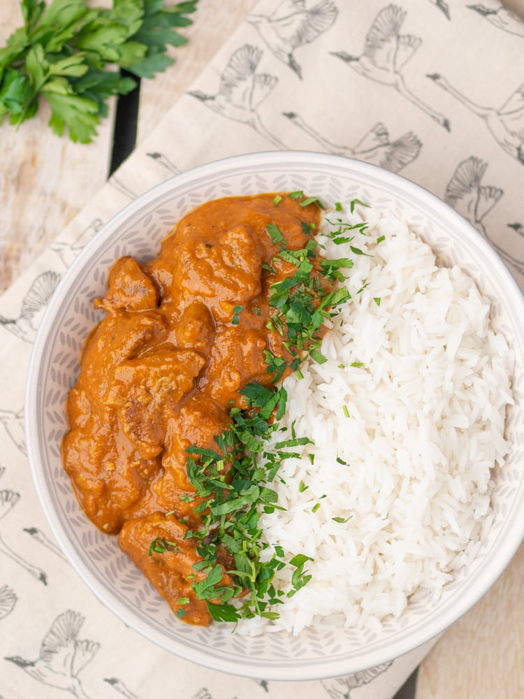 Wegański Butter Chicken