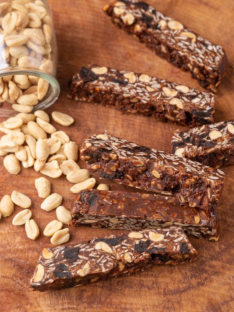 Przepis na czekoladowe batoniki z płatków owsianych bez pieczenia