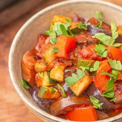Ratatuj - przepis na gulasz warzywny