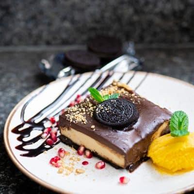 Przepis na ciasto OREO z kaszą jaglaną