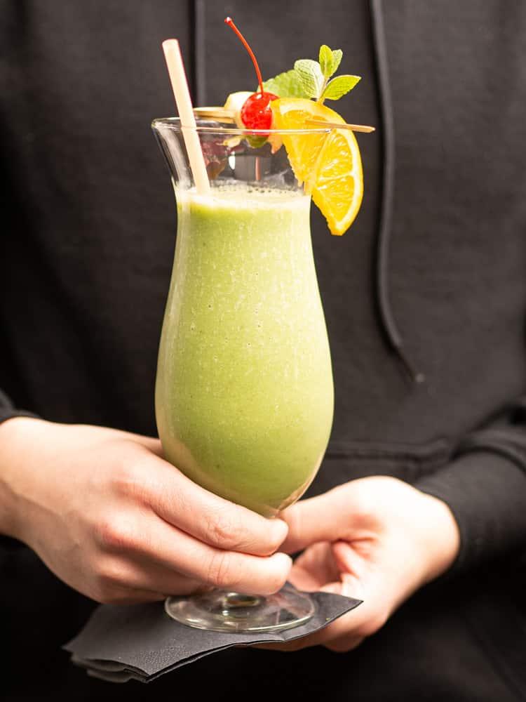 Przepis na Koktajl z brokułem i szpinakiem