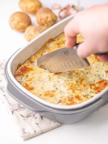 Zapiekanka ziemniaczana z boczniakami
