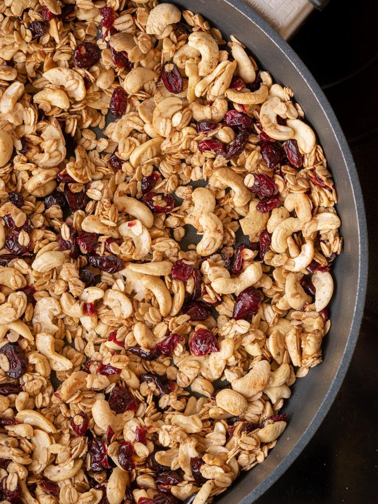 Domowa granola z patelni