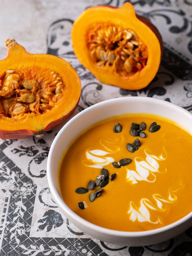 Zupa krem z dyni | Zupa dyniowa