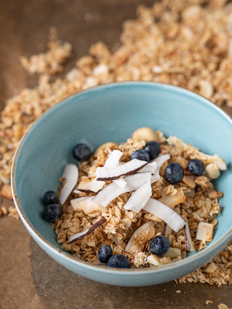 Granola kokosowa | Przepis na granolę