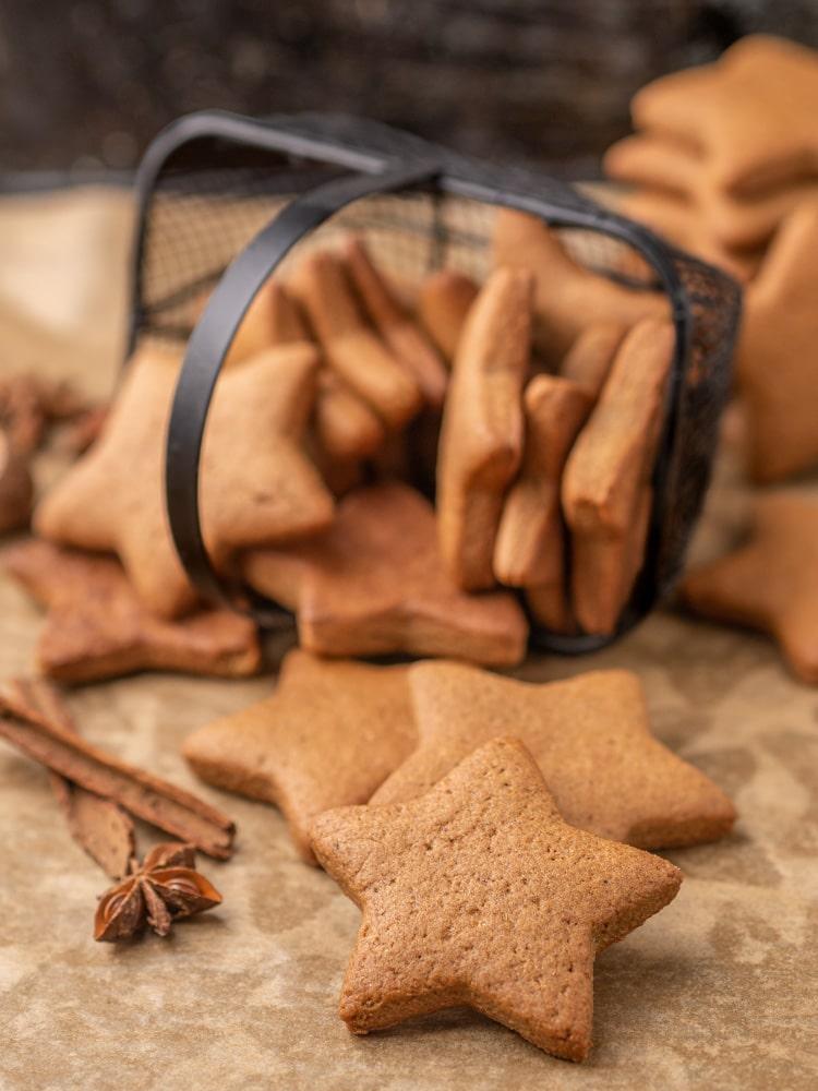 Przepis na wegańskie pierniczki świąteczne