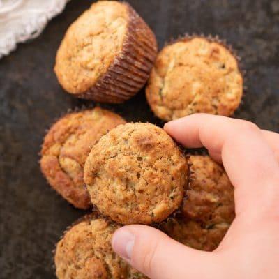 Przepis na muffiny z cukinii | Babeczki z cukinii