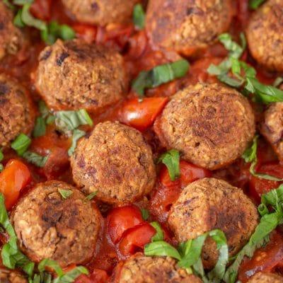 Przepis na wegańskie klopsiki z soczewicy i kaszy jaglanej | Pulpeciki z soczewicy