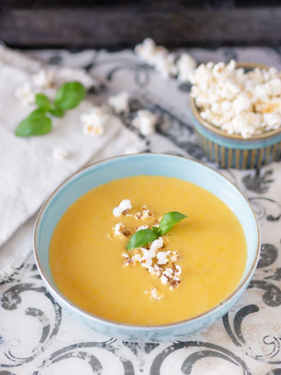 Przepis na krem z kukurydzy z puszki | zupa krem z kukurydzy konserwowej