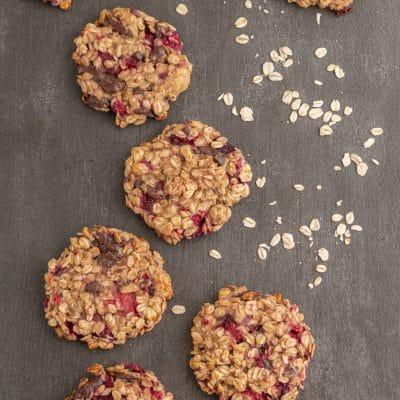 Przepis na Zdrowe ciastka owsiane bez cukru i mąki