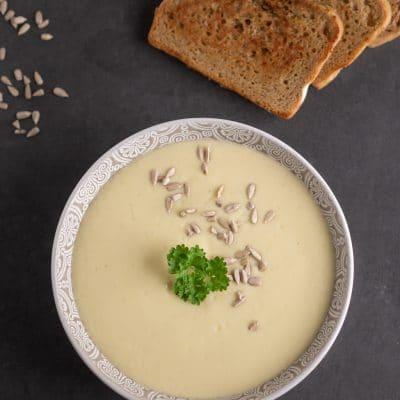 Przepis na | Zupa krem z białych warzyw