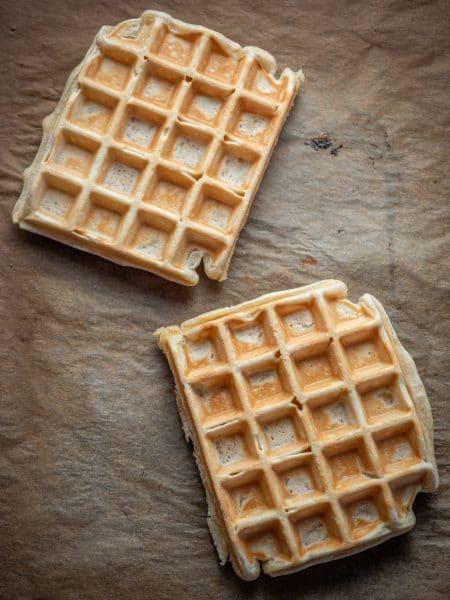Przepis na wegańskie gofry bez jajek i bez mleka