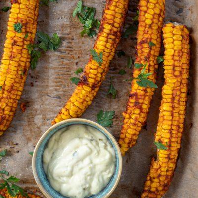 Przepis na Żeberka z kukurydzy